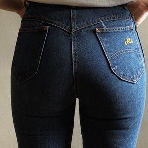 Vintage high rise jeans